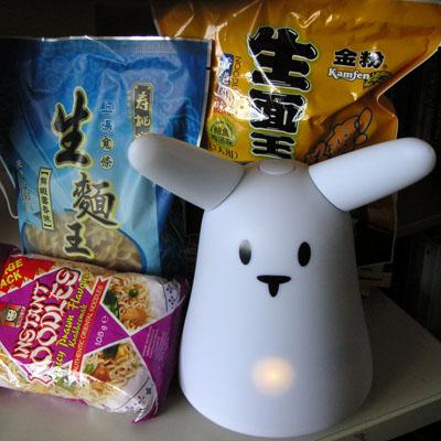 A Cantonese rabbit... Instant_noodles