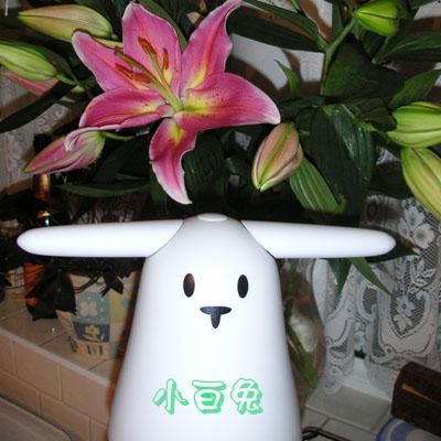 A Cantonese rabbit... Nabaztag_flowers